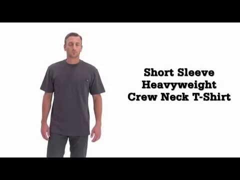 Dickies Heavyweight Short Sleeve Pocket Crew Neck T - Shirt