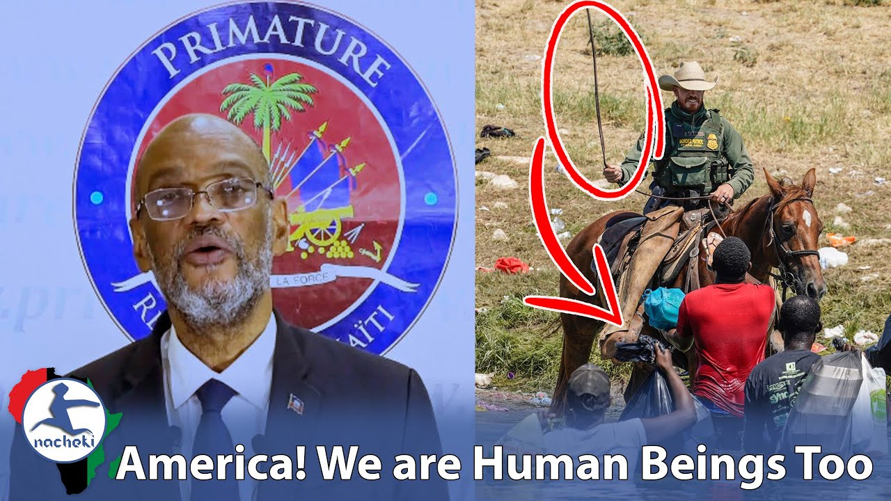 Prime Minister of Haiti calls out the USA for Whipping Haitian Refugees during UN Speech