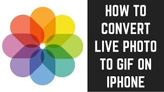 How to Convert Live Photo to GIF on iPhone