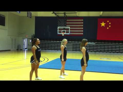 2012 ASCC Kids College Cheer Camp Dance Routine (Ages 7-12)