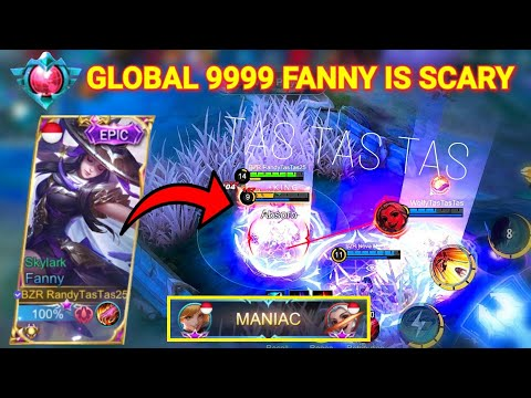 When RandyTasTas25 Fanny Play Aggressive!! AUTO MANIAC!! | Mobile Legends