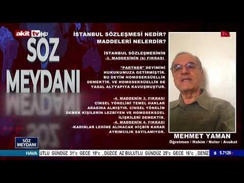 İstanbul Sözleşmesinin 3.  ve 4.  Maddesi Bakın Aileyi Nasıl Yıkıyor? - Söz Meydanı