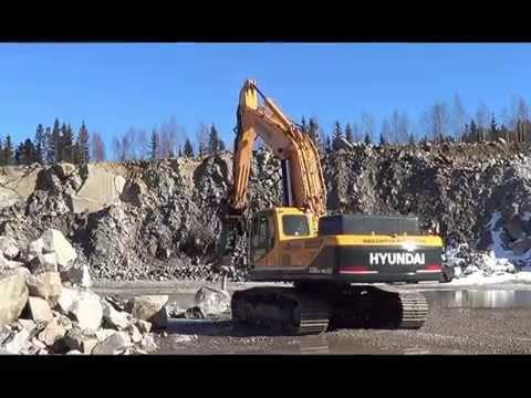 Video Pásové rypadlo HX 330L