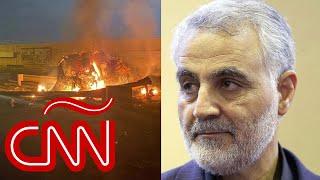 Estados Unidos mata al general iraní Qasem Soleimani en aeropuerto de Bagdad