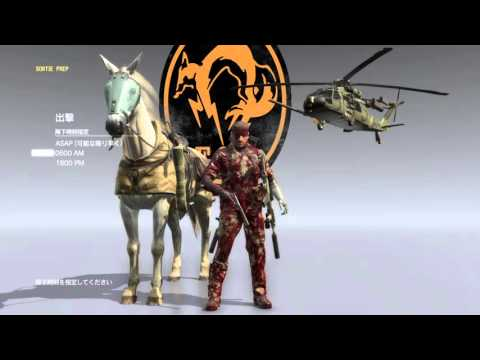 How to make American  sniper  ver M4 carbine on MGS5