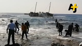 Europe's Solution To The Migrant Problem: Blow Up Boats