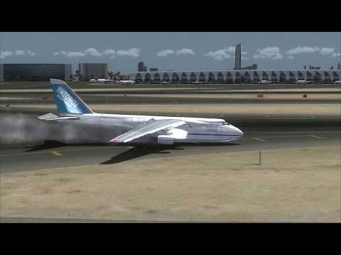 ANTONOV An-124 Crash at Dubai