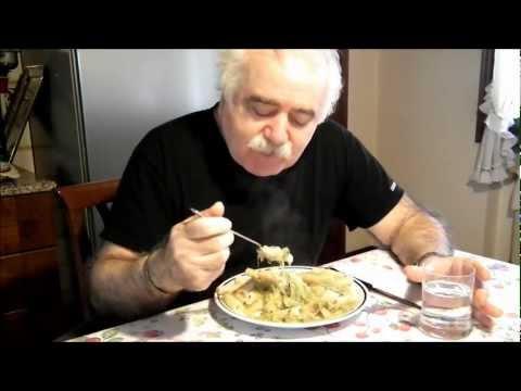 Famoso Rigatoni con gambetti di broccoli (friarielli), patata, guanciale  IK47