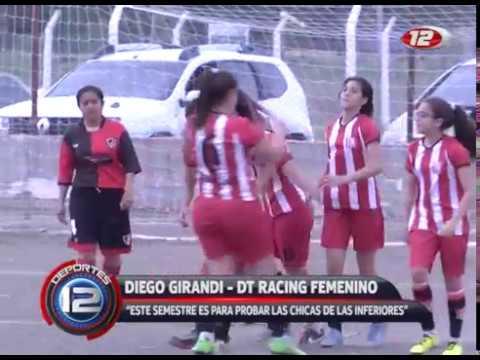 Racing le ganó a Gaiman por 2 a 0 - Fútbol Femenino