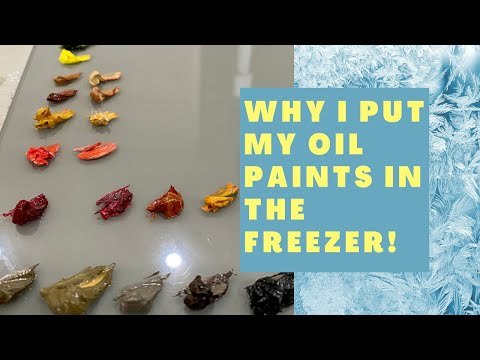 OIL PAINT TUTORIAL || How to Stop Your Paint Drying on Your Palette 🎨