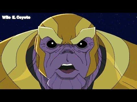 Thor Derrota a Thanos ♦ Los Vengadores Unidos T02E13 ♦ Español Latino