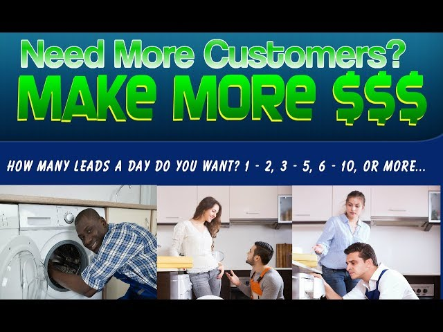 Appliance Repair Marketing Solutions (ARMS) - Unlimited Leads Generation All the Customers You Can..