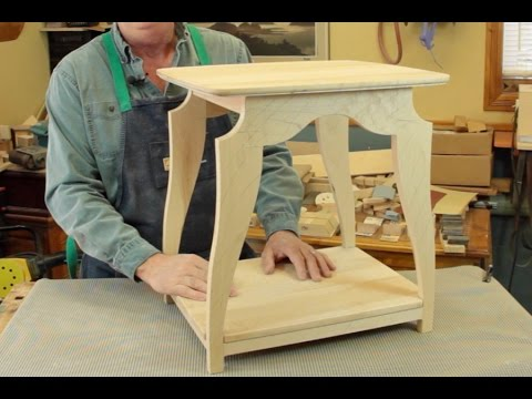 petite table assembl e tenons et mortaises youtube. Black Bedroom Furniture Sets. Home Design Ideas