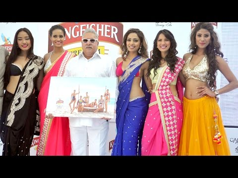 Launch Of  Kingfisher Calendar
