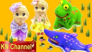Đồ chơi trẻ em Búp bê baby Chibi Tập Cuộc thi tài năng tô tượng Stop motion Kids toys