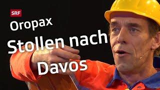 Oropax und der Stollen nach Davos