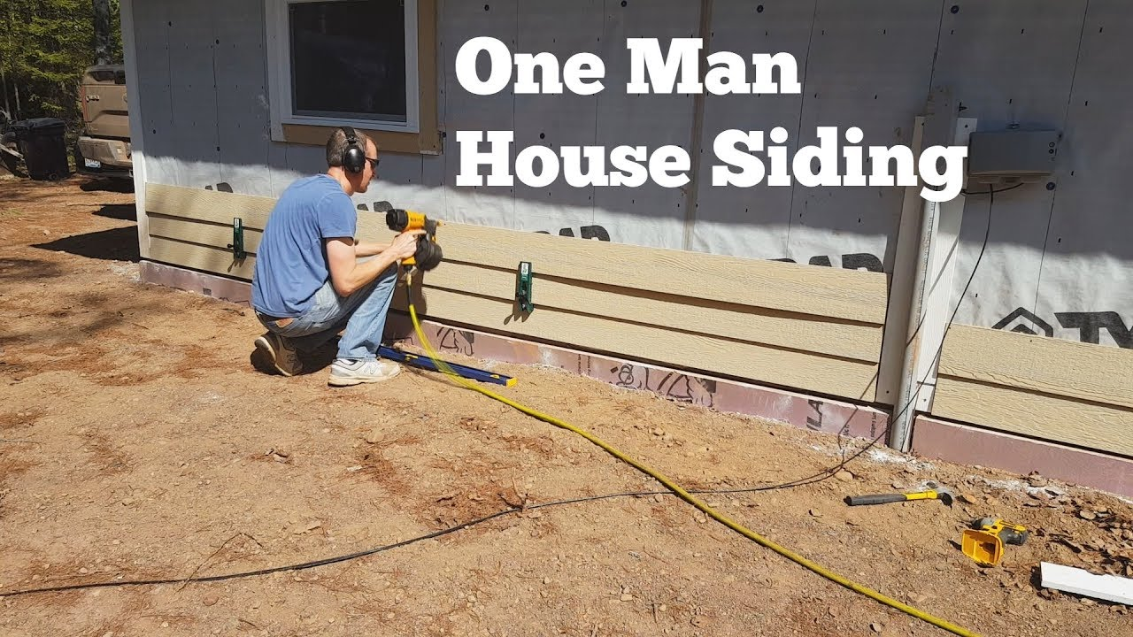 Siding A House By Yourself You