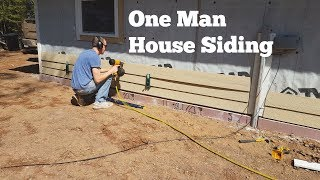 Siding a House By Yourself