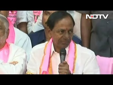 In Telangana, K Chandrashekar Rao's TRS Strikes Gold