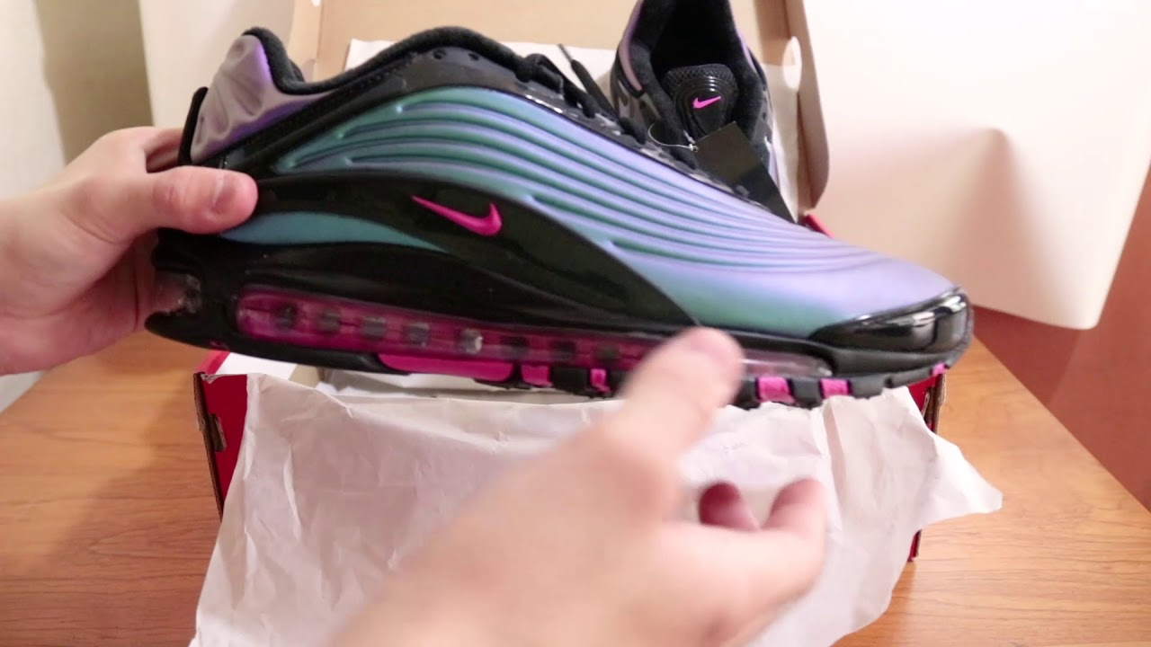 Unboxing Nike Airmax Deluxe Throwback Future | New release March 21st 2019