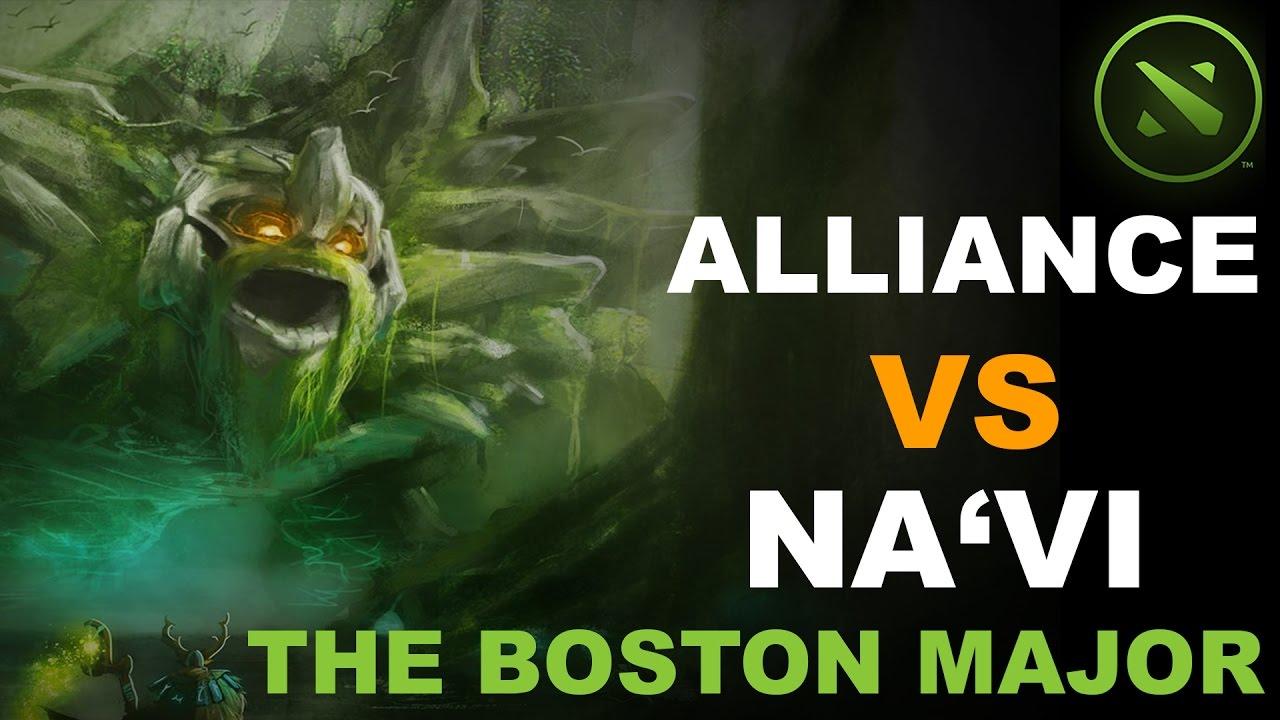Download Alliance vs Na'Vi The Boston Major HIGHLIGHTS #dota2