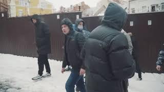 Націоналісти проти тітушок під Солом'янським судом: відео