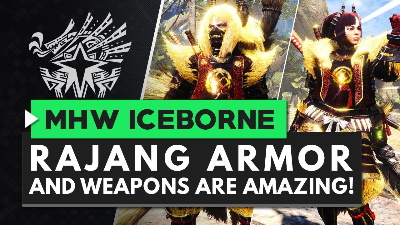 Monster Hunter World Iceborne | RAJANG ARMOR IS AMAZING! All Weapons & Armor Skills Overview thumbnail