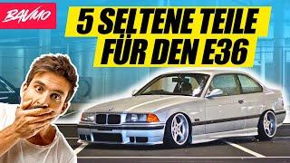 5 SELTENE Teile für den BMW E36   BAVMO Tuning-Tipp