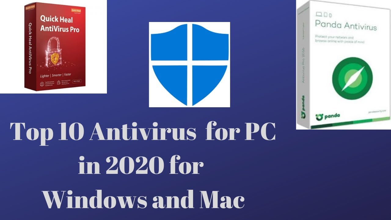 Top 10 Best Antivirus for PC in 2020 for Windows and Mac ...