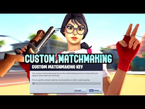 private matchmaking fortnite codes