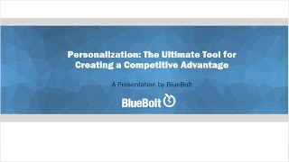 Personalization  The Ultimate Tool for Creating a Competitive Advantage