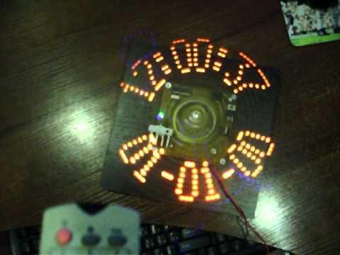 Светодиодные часы с