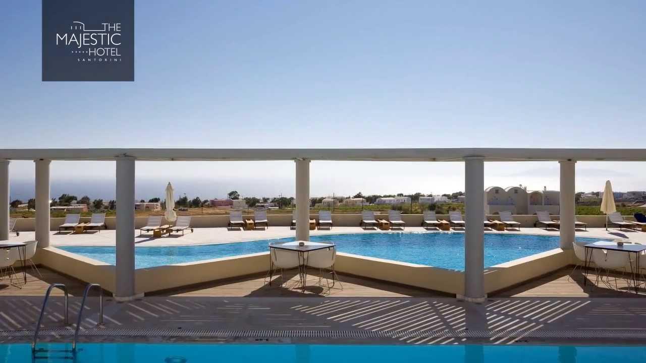 The Majestic Hotel In Fira Santorini Greece