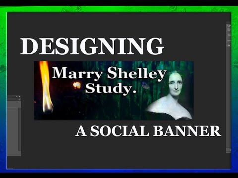 Designing a Social Banner Marry Shelley Study
