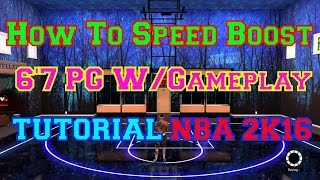 How To Speed Boost With 6'7 PG DemiGod Tips & Details W/Gameplay