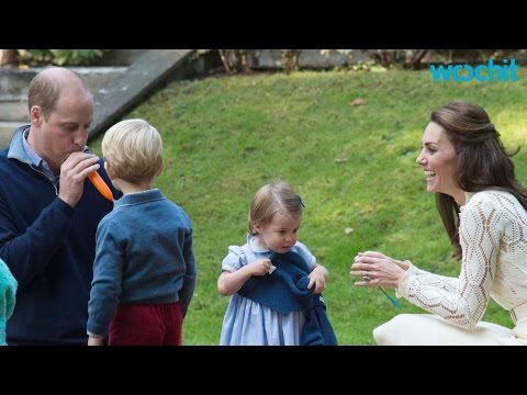 Prince George & Princess Charlotte Join Canadian Tour