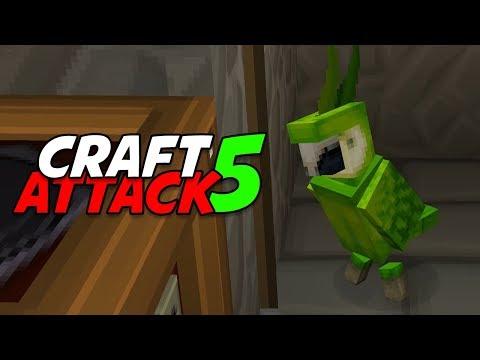 Sein Name ist... 💥 Craft Attack 5 #13 Minecraft Deutsch 💥 baastiZockt