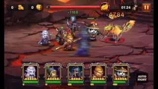 Heroes Charge: Burning Phoenix VI Team 4