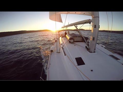 Sailing in the Adriatic Sea // Croatia - GoPro HD