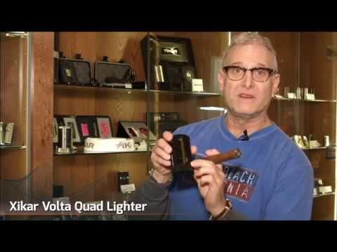 Xikar Volta Quad Flame Lighter Review - Cigar Advisor Magazine