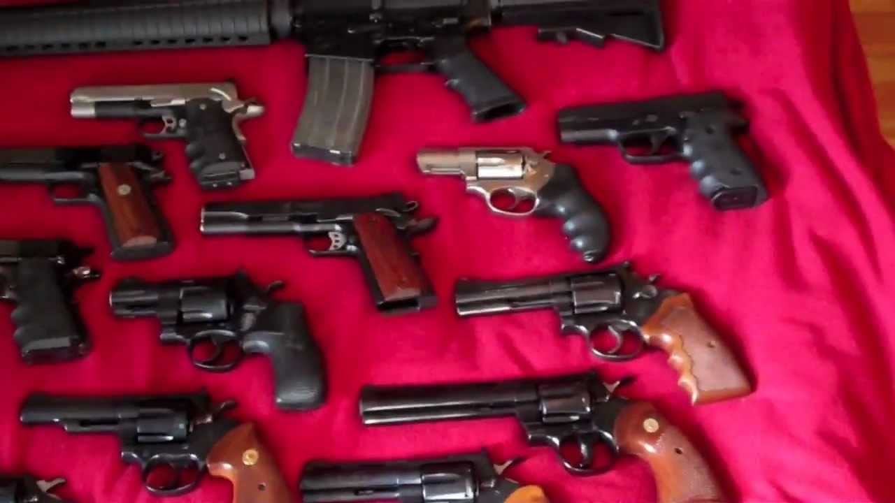 Firearms Collection February 2012