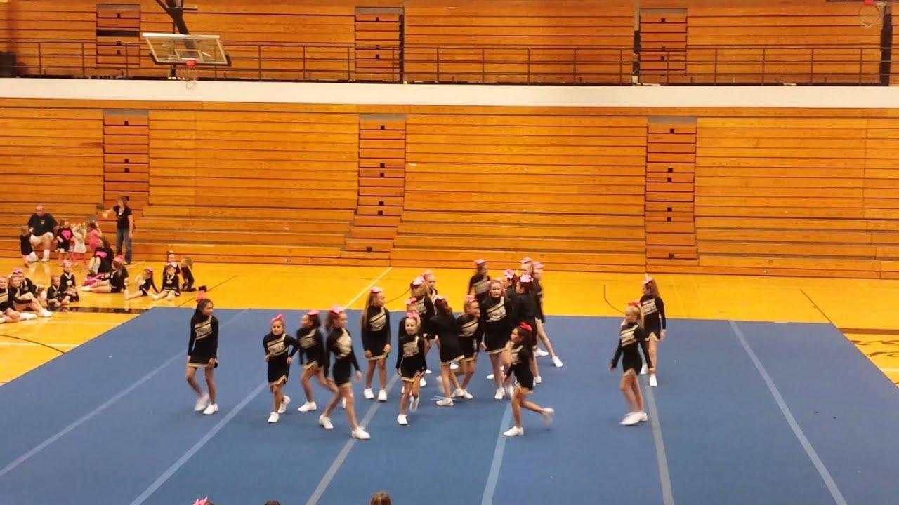 Carol Stream Panthers Cheer Showcase Oct 11th 2013 6th Grade
