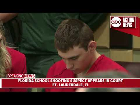 Court hearing held for Nikolas Cruz