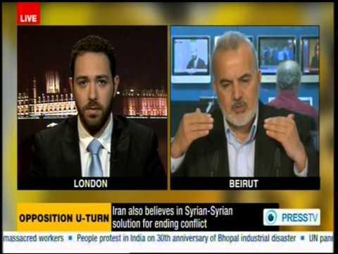 Debating Syria with a hard-line Islamist
