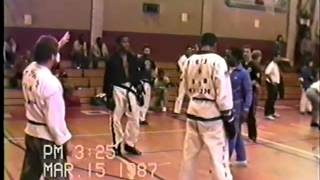 Exclusive! Teenage Michael Jai White fighting, 1987 Tournament.mp4
