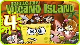 Video Nicktoons: Battle for Volcano Island Walkthrough Part 4 (PS2, Gamecube) 100% Level 4 Fort Clabclaw download MP3, 3GP, MP4, WEBM, AVI, FLV November 2018