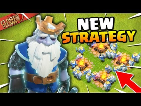NEW Strategy: The Royal Bat Attack...You Will 3 Star! Clash Of Clans New Troop - Royal Ghost!