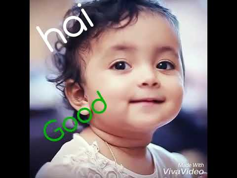 Good Morning Wish By Cute Baby.
