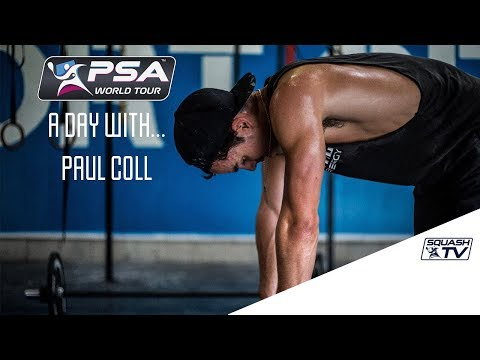 Squash: A Day With... Paul Coll