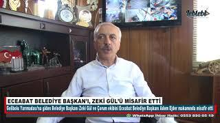 ECEABAT BELEDİYE BAŞKAN'I, ZEKİ GÜL'Ü MİSAFİR ETTİ